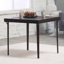 square premium wood folding card table com