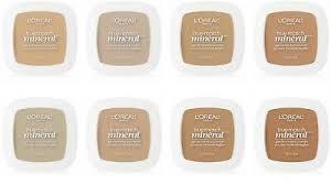L Oreal True Match Shade Chart Loreal Paris True Match Mineral Pressed Gentle Powder