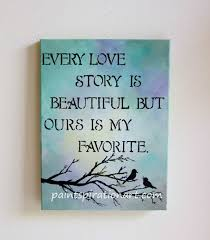 Beautiful Painting Quotes Best Of Every Love Story Is Beautiful Love Birds Art Original Painting 24x24