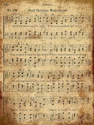 printable vintage sheet music 76 best christmas sheet music printable images on pinterest