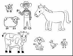 Small Picture unbelievable farm animal coloring pages to print with animals