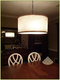 drum shade chandelier diy home design ideas make your own kitchens with pendants