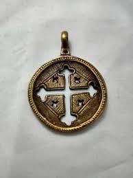ethiopian coptic cross pendant african