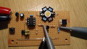power led strobe power led strobe prototype