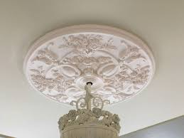 baile medallion white ceiling fan 2