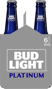 Bud Light Platinum Font Bud Light Platinum Beer 6 Pack Beer 12 Fl Oz Bottles