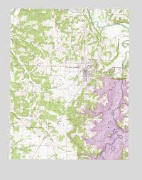 Stockton Mo Topographic Map Topoquest