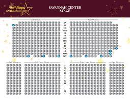 Pace Center Seating Chart Savannah Center The Villages Entertainment The Villages