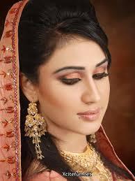 smokey eyes shimmer bridal makeup and mehndi designs collection