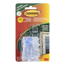 Christmas Light Hooks Walmart Command Outdoor Light Clips