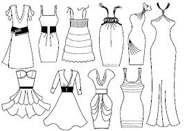 Small Picture Dresses coloring pages dress coloring pages bestofcoloring cute