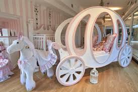 Little Girls Bedroom Unique Little Girls Bedroom Idea With Wagon Bed Frame Design