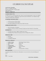 Correct Format For Resume Lovely 37 Elegant Proper Format For Resume