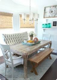 furniture nook. cottage style dining space love the use of a bench furniture nook
