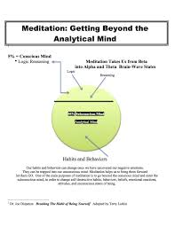 in the news press the light gap meditation getting beyond the analytical mind