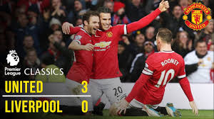 Manchester united versus liverpool remains one of the biggest fixtures in world football regardless of the two teams' varying fortunes in recent years. Manchester United 3 0 Liverpool 14 15 Premier League Classics Manchester United Youtube