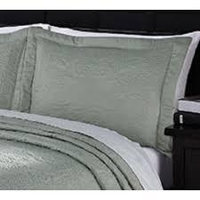 french tile sage microfiber king size pillow sham