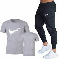 <b>Hot Sale</b>! Summer 2019 Nike Logo Men's <b>2 Pcs Set</b> Casual Suits ...