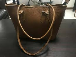 custom made leather bag for