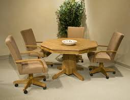 simple dite chairs casters floors doors dining room chairs with wheels