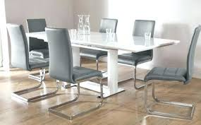 dining room tables for 6 dining tables grey white high gloss extending dining table and 6 chairs set grey weathered grey round dining room table seats 6