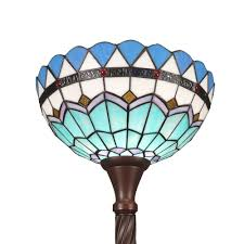Tiffany Stehlampe Fackel Monaco Art Deco