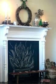 faux fireplace surround ideas