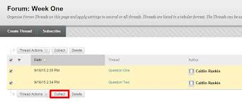 Print Discussion Board Posts The Teaching Center