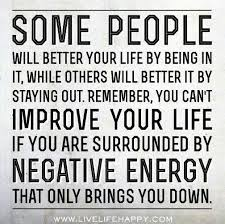 Negative Energy Quotes Cool Get Rid Of Negative Energy Interesting Pinterest Inspirational