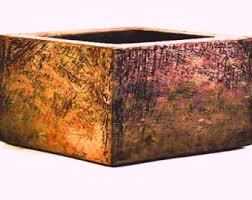 Decorative Planter Boxes Decorative Planter Etsy 19