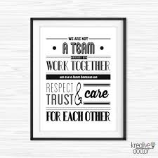 Teamwork Quotes Funny Best Teamwork Quotes For Office Wall Art Printable Success Quotes Etsy