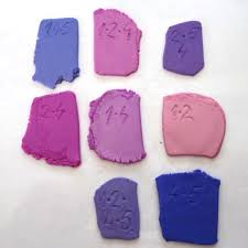 Premo Color Mixing Chart Shape Shade And Color Polymer Clay Purple And Pink Color