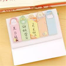 decorative office supplies. Cute Sumikko Gurashi Adhesive Memo Pads Sticky Notes DIY Decorative  Stickers Student Stationery Decorative Office Supplies