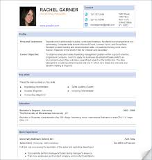 Resume Templates Sample | Experience Resumes