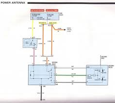 camaro power antenna wiring diagram wiring diagrams online camaro power antenna wiring diagram need help on custom power antenna control third generation f