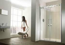 frontline aquaglass 1400mm frameless 2 door recess sliding shower aqua glass eleganza shower wall