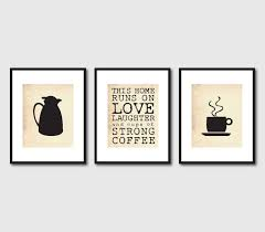 Coffee Kitchen Theme Decor Decoration Coffee Kitchen Wall Decor With Garland Writing And