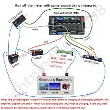50v 200a dc digital green led combo amp volt panel meter voltmeter dc 50v 200a dc digital green led combo amp volt panel meter voltmeter 200a 75mv shunt