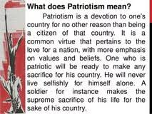 long essay on patriotism essay about my school days distance for love of country an essay on patriotism and nationalism