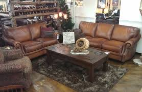 bradley s furniture etc artistic leather premium rustic sofas with and loveseats plans 14