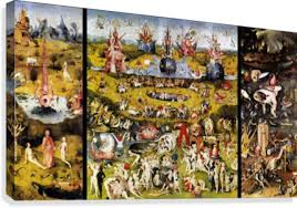 garden of earthly delights poster. The Garden Of Earthly Delights Canvas Print Poster R