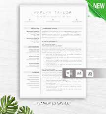 Resume Template Modern Professional Clean Creative Resume Template Cv Pack Instant Download Teacher Nurse Template For Word Exclusive Txc5