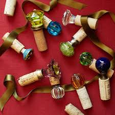 Decorative Wine Bottle Corks Homemade Gifts for the Holidays Food gifts Decorative knobs and 2