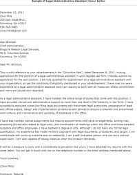 Sample Cover Letter For Executive Assistant Position Writing Sample