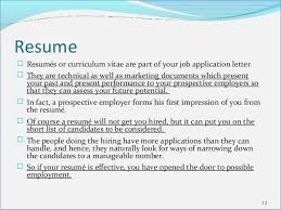 What Does Resume Mean