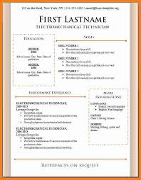 5 Cv Formats Download Theorynpractice