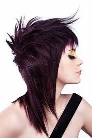 Image Coiffure Punk Femme Cheveux Mi Long Coiffure Cheveux