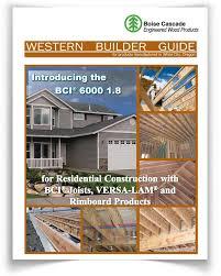 Versa Lam Lvl Span Size Chart Western Products Boise