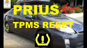 2010 Toyota Prius Oil Light Reset How To Reset Toyota Prius Tpms Light Low Tire Pressure