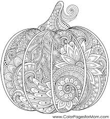 Small Picture 12 Fall Coloring Pages for Adults Pumpkin Fall Crafts